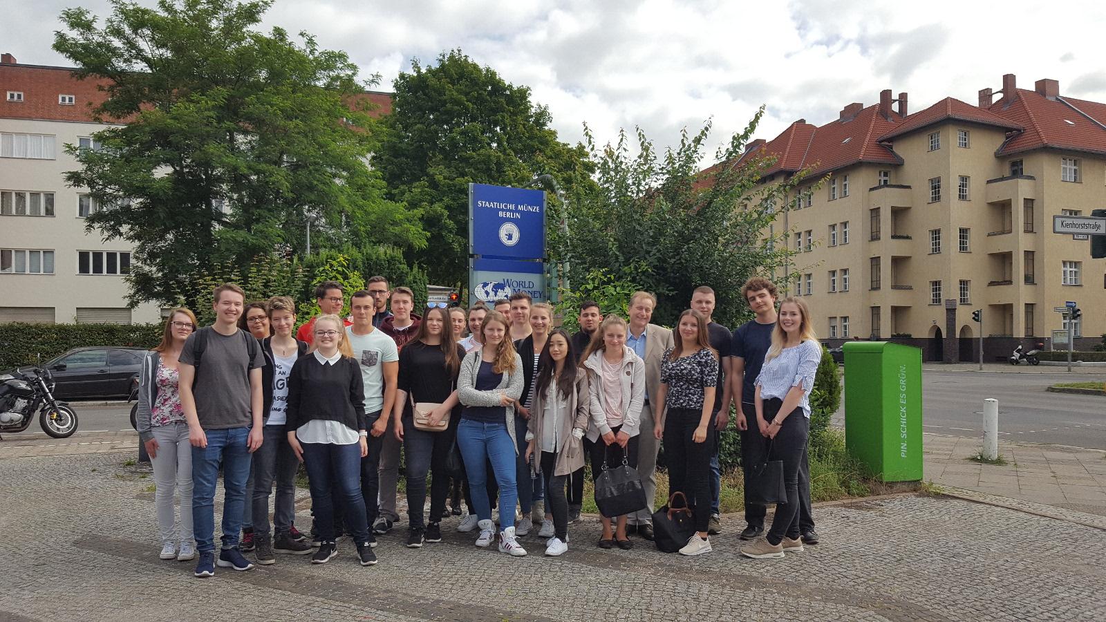 Besichtigung Der Staatlichen Münze Berlin Leopold Ullstein Schule